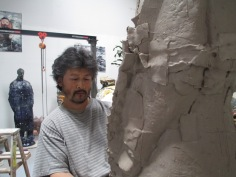 2013 artist at his studio in San Francisco.